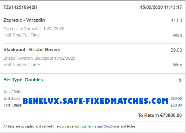 best fixed matches 100% sure